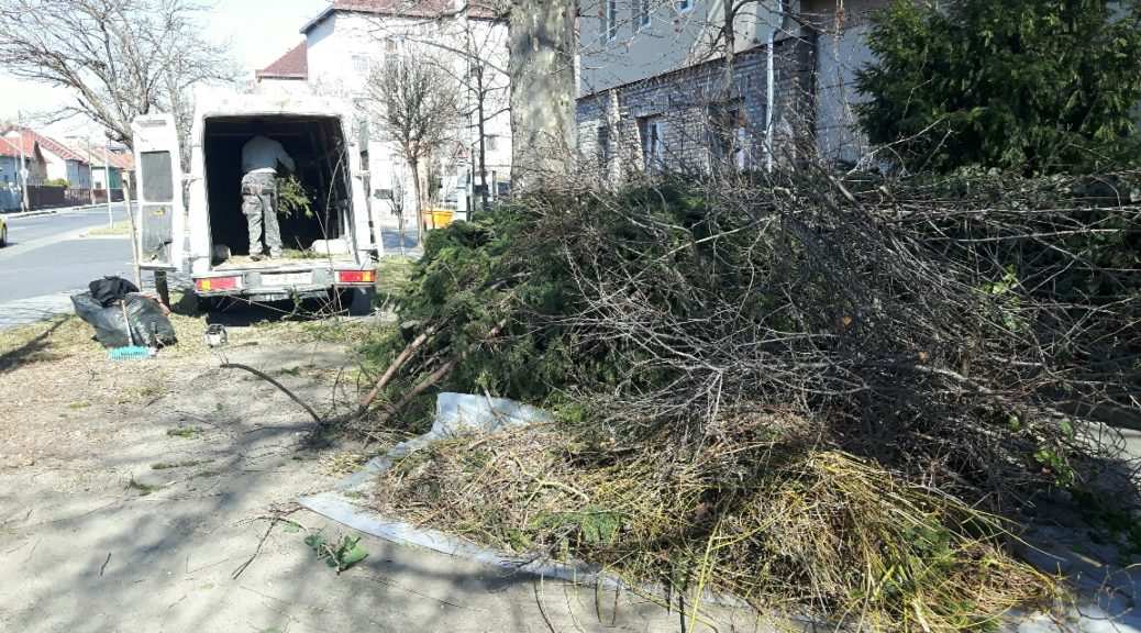Zöldel - zöldhulladék elszállítás Budapest
