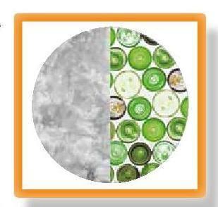 újrahasznosított üveg